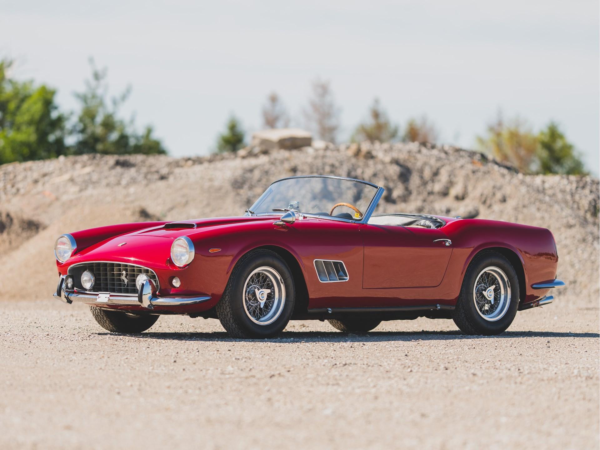 1962 Ferrari 250 California SWB Spider by Scaglietti