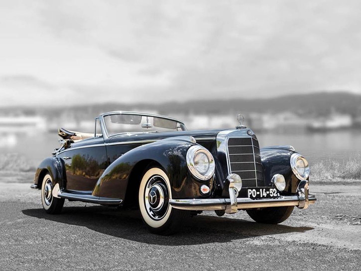 1954 Mercedes 300 S Cabriolet A Convertible