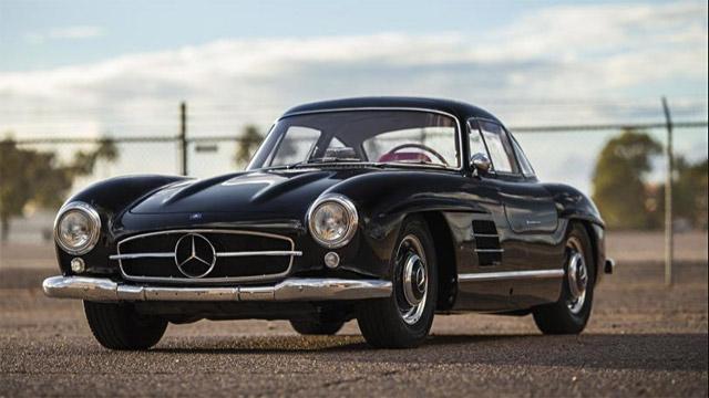 1956 Mercedes Benz 300 SL Gullwing Coupe