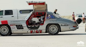 300SL Gullwing in the Salt Flats