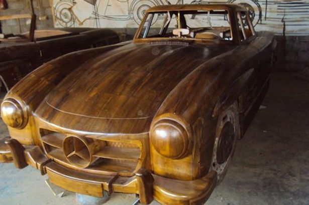 Wooden motor